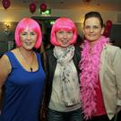 Mandy and Rita Murphy and Anita Nolan enjoying their night out at the the Pink night in the Slainte Bar Ramsgrange last Friday night in aid of Breast Cancer.