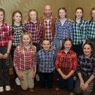Members of Scratchie's line dancers who performed at the Adamstown AC fashion show fundraiser in the Horse and Hound