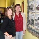 Jackie Kielthy and Kathleen Flannelly admiring an exhibit at the CBS Primary School Open Day on Saturday
