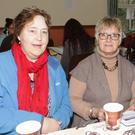 Anne Shannon, Anne McMorris and Kay O'Riordan at the coffee and information morning for the launch of the new SCOPE newsletter in the AOH Hall, Bridgetown on Thursday last