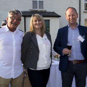 Pictured at the Business After Hours Networking Event at the Kennedy Homestead, Dunganstown were: Pat Kent (Guiding Light, Fethard); Debbie Bailey (New Ross & District Chamber; Lorcan Kinsella (Brand News Digital, New Ross) and Véronique Rooney (Tap2Heal, Foulksmills).