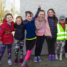 Taking part in the Ballycullane NS fun run and walk were Sophie Conway, Boley; Leona Nolan, Balliniry; Emily Power, Yoletown; Illianna and Bella Egan, Boley; Amelia Sic, Ballycullane; Amelia Egan, Boley and Maisie Murphy, Ballycullane