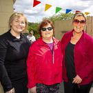Taking part in the Barrowline charity walk starting at St Mullins in aid of the Oncology Cancer Ward at University Hospital Waterford were Seline Ryan, Ballysop; Fiona Kenny, Campile; Betsie O'Donovan, Ballyfarnogue and Laura Rowe, Ballinamon