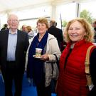 Enjoying Glanbia Shelburne Co-Op's 100 year celebrations were Dick Byrne, Boley; Jimmy Curtis, Loughnageer; Kathleen Byrne, Boley and Eileen Molloy, Saltmills