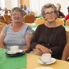 Teresa Molloy, Mary and Robert Wallace and Caroline Lyons at the fundraiser for Gambia in Duncannon community centre