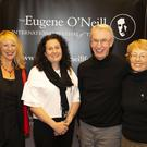 Melanie O'Reilly, Bernadette O'Neill, Dan and Carolyn McGovern at the launch of the Eugene O'Neill festival in the Brandon House Hotel
