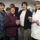 Attending the re-opening of Newbawn hall were Maureen White, Newbawn; Mary Foley, Carrigadaggin; Mairead French and Liz Dunphy, Raheenvarren