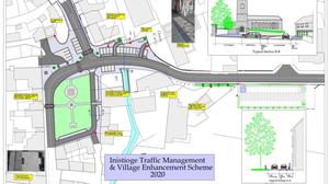 The planned new-look to Inistioge is causing disquiet among some locals.