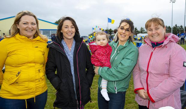 laine Finn, Ballyhack Beg,Diane Somers, Boley, Ava Cleary and Nicola Wall, Carlow and Sinead Wickham, Drealistown