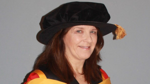 Celia Walsh who was awarded a Doctorate in Education