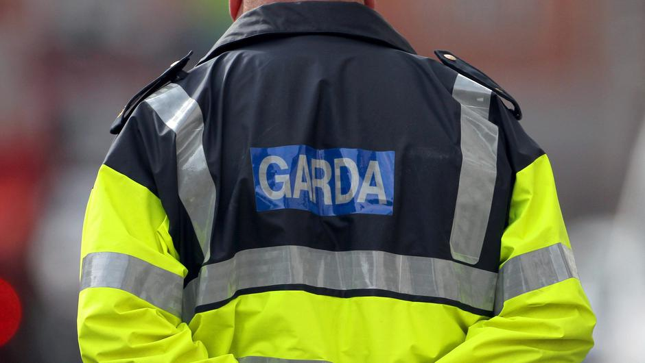 Gardai seized €80k of designer clothes, footwear and top-of-the-range TVs. Stock image