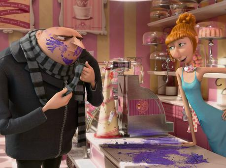 Despicable Me 2 doesn't quite attain the dizzy heights of the original but the action sequences are bigger and the humour is just as silly.
