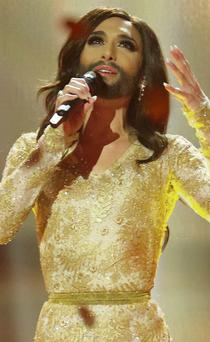 Conchita Wurst: in fairness, the song wasn't bad and he had a great voice so why did it have to be turned into this spectacle? Is it a song contest or is it not?