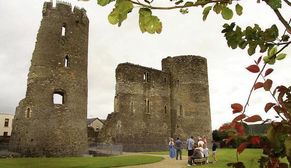 Ferns Castle is a feature on the new driving route