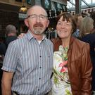 Jim and Statia Staples at the launch