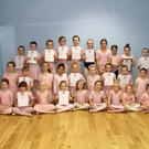New Ross District members of the Wexford School of Ballet & Performing Arts who received top grades in the Royal Academy of Ballet examinations recently seen in the Youth Centre New Ross on Thursday