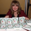 Carmel Harrington at the launch of her third book 'Every Time A Bell Rings'