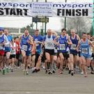 And they're off! The start of last year's Ferrycarrig Five road race