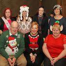 Nominees for the Slimming World Competition who were announced in the Horse and Hound. Back: Tracey O'Neill, Benny Molloy, Samanta Hendrick and Tina Corish. Front: James Larkin, organiser Ann Marie Foley and Catherine Larkin