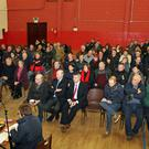 Some of the attendance at the meeting held in Clonroche Community Hall