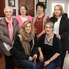 At the New Ross Women's Shed information day and coffee morning in New Ross Rugby Club last Wednesday were committee members front Fiona Morrin and Lisa Herbert, Back left to right Patsy Nolan, Kay Roche, Catherine Brazil and Betty Richardson