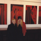 New Ross artist Triona O'Connor with her mother Kathleen