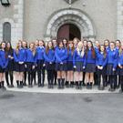 Transition year students in Our Lady of Lourdes Convent who are raising awareness of carbon monoxide as part of their Young Social Innovators project.