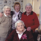 The late Mary Anne Maher (front)