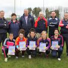 At the launch of Horeswood GAA Club's inaugural Horeswood's Fittest Family