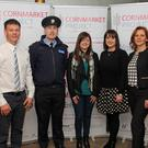 At the Positive Teen Wellbeing information night for parents in the Brandon House Hotel last Monday night were (left to right): Niall O'Donnell of New Ross Garda Station, Sergeant Eddie Wylde, Claire Power Youth New Ross, Siobhan Mackey Youth New Ross and Rosanna O Grady of the Cornmarket Project