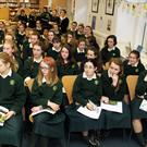 Some of the attendance at the Fairtrade information day in St Mary's Secondary School last Tuesday