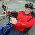 Barrow Wheelers handcyclist Seamus Wall