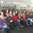 Some of the attendance at the talk in New Ross Library