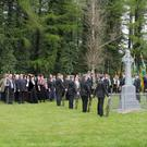 At the 1916 commemorations at Carrigbyrne last Sunday