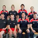 Staff at the Apex swimming pool and leisure centre: front left to right John Clare, Michael Byrne, Chris Bolger and Levi Whelan Back left to right Aideen Furlong, Martina Cashin, Monica O Rourke and Rachel Beckitt