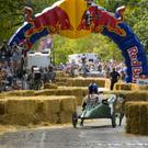 Newbawn soapbox car racers will be among the 68 entries that made it through