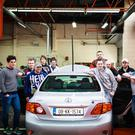From left: James Whelan, WIT Automotive Lecturer, Mark Ormsby, Castledermot, Micheal Wall, Ballinamult, Jenny Ball, Tramore, Adrian Cunningham, WIT Automotive Lecturer, Adrian Skowron, New Ross, Mark Dungan, Mullinavat, Mark MacManus, Waterford City, Shane Shortiss, Carrick on Suir, James Doughty, New Ross, Jason Berry, WIT Electronic Engineering Lecturer
