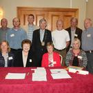 At the meeting in the Talbot Hotel (from left) back - John Colfer, Billy Doyle, Des Peare, Mark Brennan, Cllr. Tony Dempsey, David Salter, Tommy Kelly (chairman) and Lorcan Barden; front - Carmel Prendergast, Rosemary Butler, Ann Wall and Sue