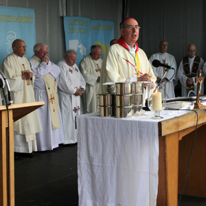 Bishop Denis Brennan at the Mass