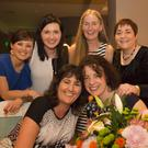 Front row: Marie Winters and Shirley Walpole; back: Rosie Cantalon, Caroline Doyle, Anita Fennelly and Colette Tinnelly enjoying Marie Winters' retirement function at the Brandon House Hotel