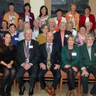 Mayor of Wexford Cllr Frank Staples was special guest at weekend in Ballyvaloo Retreat Centre