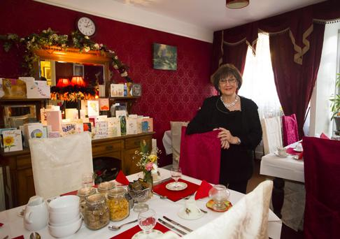 Bridget Doyle at Inish Ross House bed and breakfast on Mary Street, New Ross last Friday