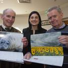 Edno Delaney, Elaine Boland and Paddy Delaney at the launch last week