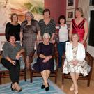 At the 50th reunion of CERT training school in Kelly's Hotel (from left) back - Ann Connelly, Mary Irwin, Anna Foxe, Kathleen Lennon and Eleanor Browne; front - Marie McGee, Mary Dermody and Liz Doyle