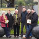 Frances Ryan, Tom Clarkin, Larry Furlong, Cllr Michael Sheehan, Pat Merrigan and Padraig Murphy at the Michael O'Hanrahan launch