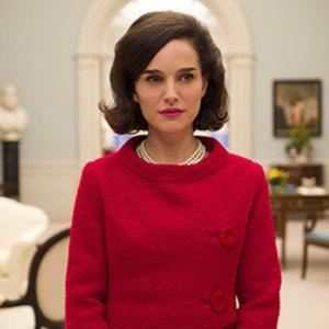 Actress Natalie Portman, who plays Jackie Kennedy in the film
