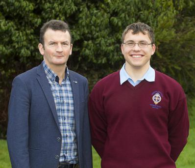 CBS secondary school teacher Jim O'Sullivan and Padraig Hore