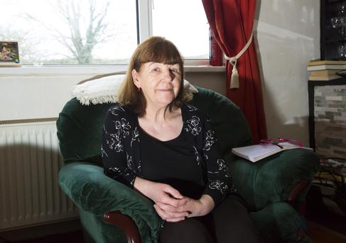Ita Gallagher in her home in Ballykelly