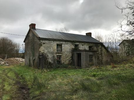 The house in Ballygarrett dates back to the 17th century.