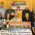 The organising committee at the launch in the Horse and Hound (from left), front - Emma Hogan, Vanessa Gahan, Lisa Crowe principal, Mairead Whelan and Dee Brennan; back - John O'Shea, Ciaran Guinan, Marcia Sinnott, Ben Doyle and Kathleen O'Sullivan